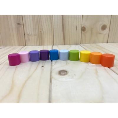 Bouchons pour tubes de baumes à lèvres