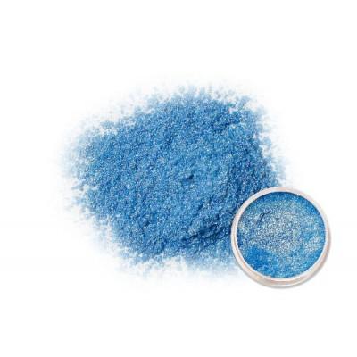 Mica lustre bleu