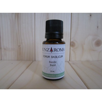 Huile essentielle de Basilic 15 ml