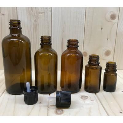 Bouteille verre 10 ml ambre