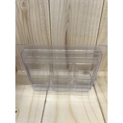 Moule plastique clair barre
