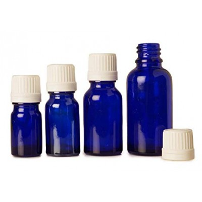 Glass bottle 15 ml cobalt