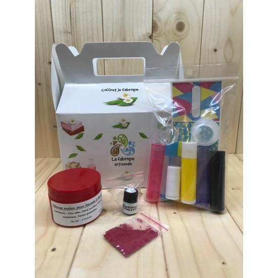 Boite fabrication de cosmétiques - Baumes à lèvres