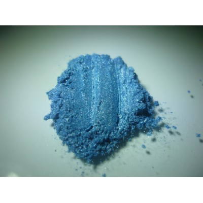 Mica bleu océan